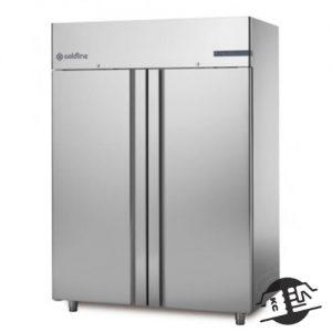 Coldline A140/2ME Dubbeldeurs koelkast 1400L (RVS)