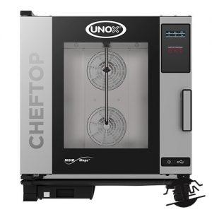 UNOX XEVC-0711-E1R Steamer 7 x 1/1 GN
